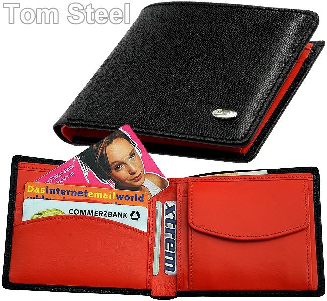 Details zu DALVEY Herren Geldbörse Brieftasche Geldbeutel Portemonnaie Italy Leather NEU
