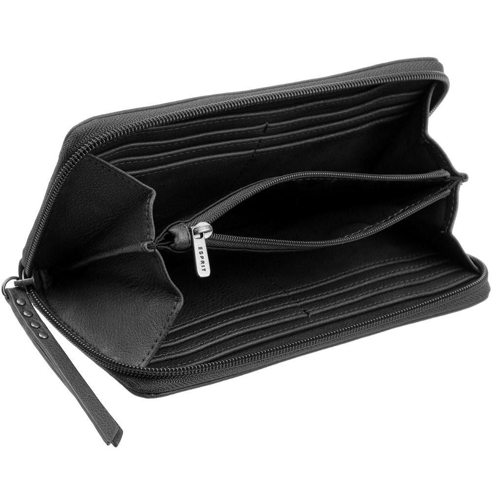 ESPRIT Reißverschluss Damen Geldbörse Geldbeutel Portemonnaie Brieftasche Neu