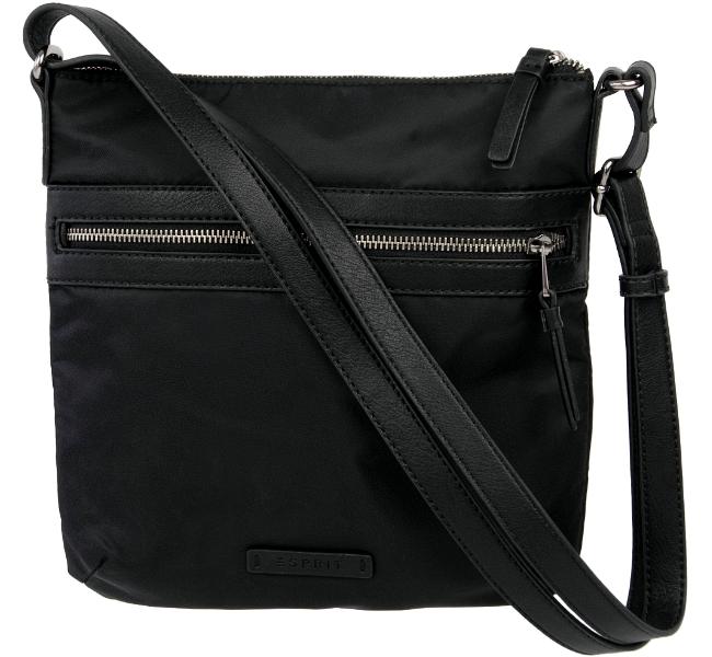 esprit damen tasche kleine stofftasche schultertasche crossovertasche handtasche. Black Bedroom Furniture Sets. Home Design Ideas
