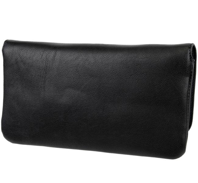 esprit damen handtasche schultertasche tasche schwarz abendtasche clutch bag ebay. Black Bedroom Furniture Sets. Home Design Ideas