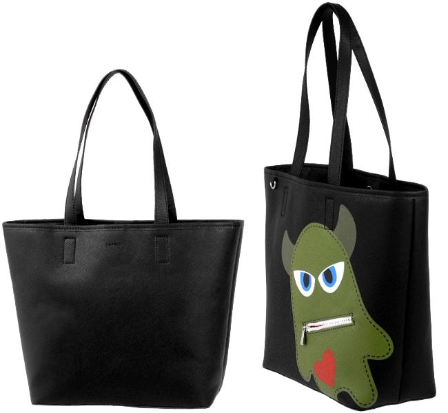 esprit damen tasche monster shopper handtasche schultertasche tragetasche neu ebay. Black Bedroom Furniture Sets. Home Design Ideas