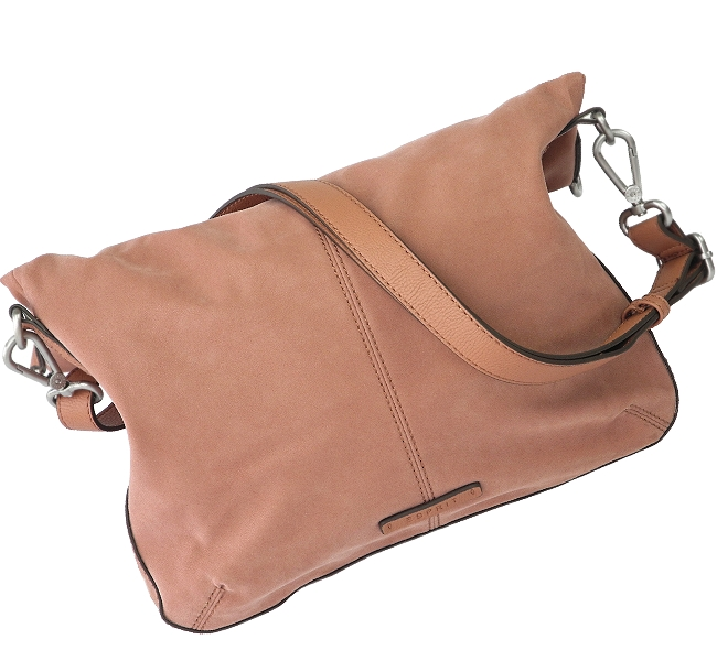 ESPRIT Damen Tasche 4-Metall-Ösen Handtasche Umhängetache Schultertasche Braun