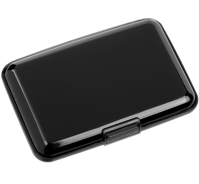 046f343cf2d05 2 Stück FABRIZIO Aluminium Geldbörse KarÂtenÂetui Geldbeutel RFID ...