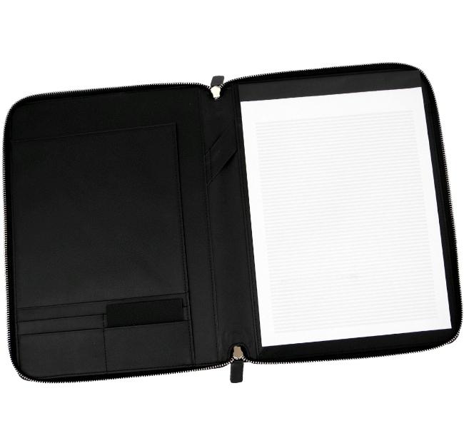 hugo boss a4 rv leder schreib mappe tasche auto meeting b ro etui folder neu ebay. Black Bedroom Furniture Sets. Home Design Ideas