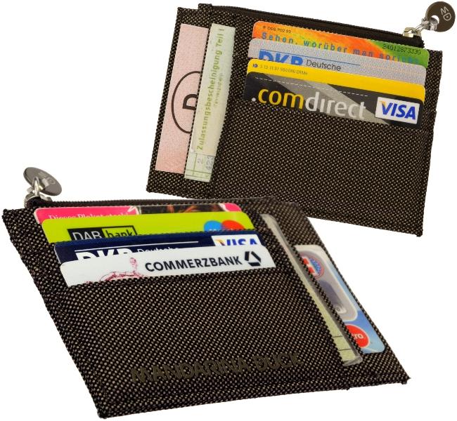 mandarina duck ec karten kreditkarten geldschein etui 7mm. Black Bedroom Furniture Sets. Home Design Ideas