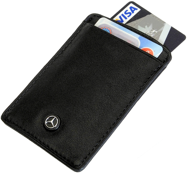 Mercedes benz style kreditkartenetui ec karten leder for Mercedes benz card
