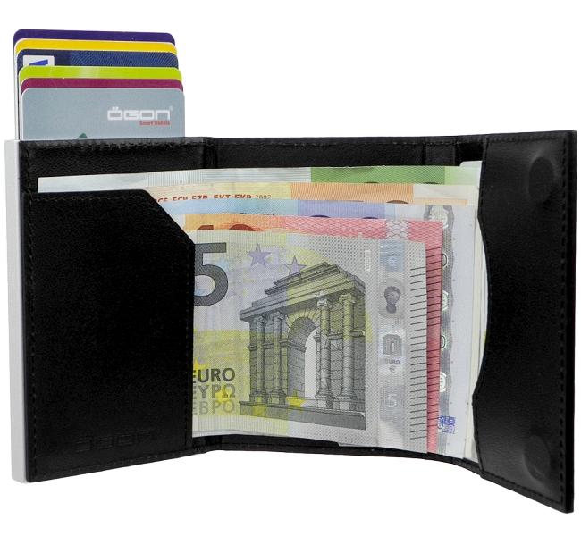 gon aluminium leder b rse ec kartenetui kreditkartenetui. Black Bedroom Furniture Sets. Home Design Ideas