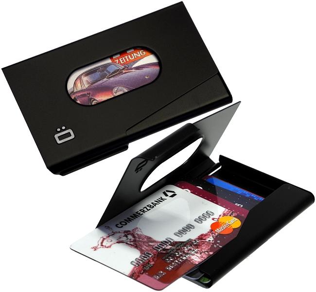 ogon aluminium ec kartenetui visa kreditkartenetui gon. Black Bedroom Furniture Sets. Home Design Ideas