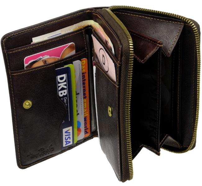 TONY PEROTTI Damen Geldbörse INKOGNITO Portemonnaie Geldbeutel Geldtasche PURSE