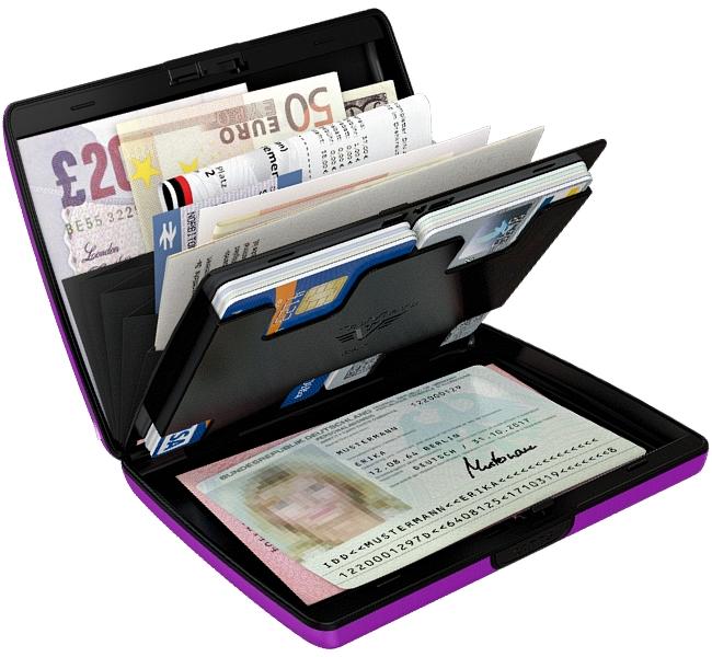 Details About Tru Virtu Aluminium Purse Card Case Business Card Case Credit Card Case Business