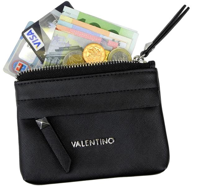 VALENTINO kleine Damen Geldbörse Brieftasche Portemonnaie Geldbeutel mini Börse