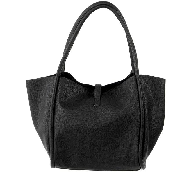 valentino damen tasche metall verschluss handtasche. Black Bedroom Furniture Sets. Home Design Ideas